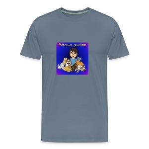 Mitchell Shilling T-Shirt For Guys - Men's Premium T-Shirt