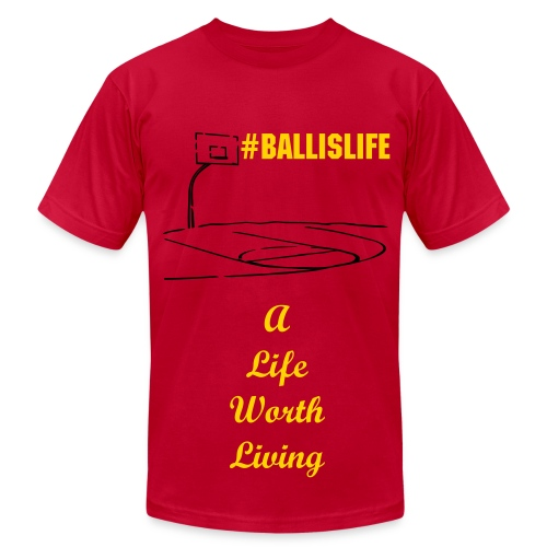 Ball Is Life - Men's Fine Jersey T-Shirt