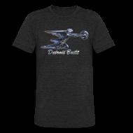 T-Shirts ~ Unisex Tri-Blend T-Shirt ~  Detroit Built Packard Hood Ornament