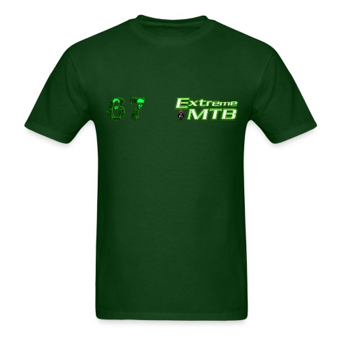 Neon Green/ Bss on the back - Men's T-Shirt