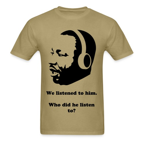 Martin Luther King - Men's T-Shirt