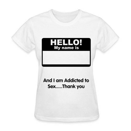 Sex addict (2) - Women's T-Shirt