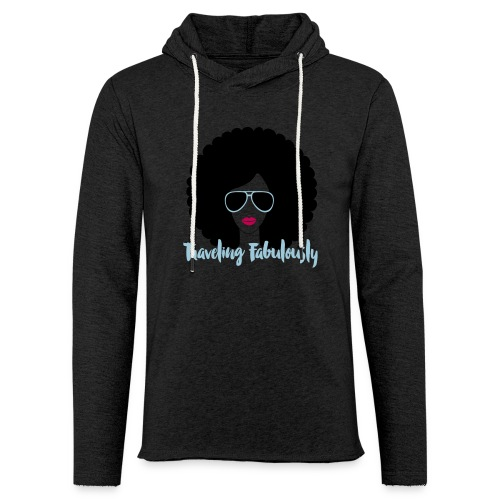Traveling Fabulously  - Unisex Lightweight Terry Hoodie