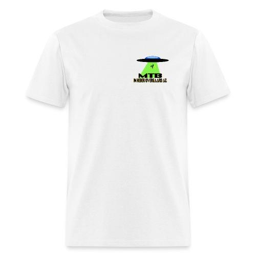 MTB in Heber/Overgaard with Caution! - Men's T-Shirt