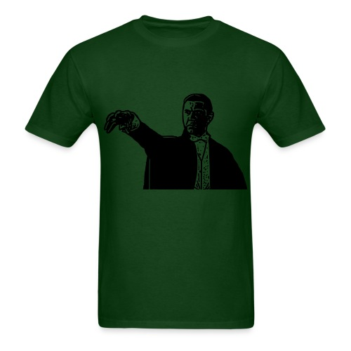 Dracula Death Hand horror T-Shirt - Men's T-Shirt