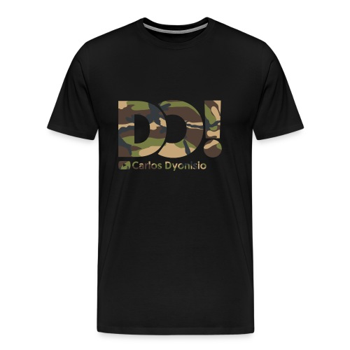 Camo on Black DO! T-Shirt - Men's Premium T-Shirt