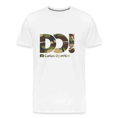Camo on White DO! T-Shirt - Men's Premium T-Shirt