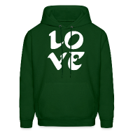Hoodies ~ Men's Hoodie ~ Eagles Love SweatShirt