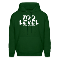 Hoodies ~ Men's Hoodie ~ 700 Level Veterans Stadium SweatShirt