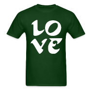 T-Shirts ~ Men's T-Shirt ~ Eagles Love Shirt