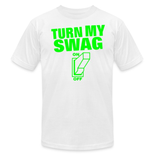 Turn on my SWAG - Men's Fine Jersey T-Shirt