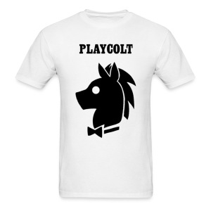 Playcolt [Black] - Men's T-Shirt