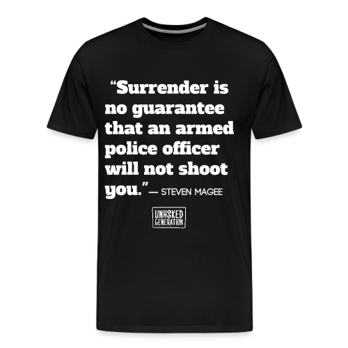 NO GUARANTEE BLK - Men's Premium T-Shirt