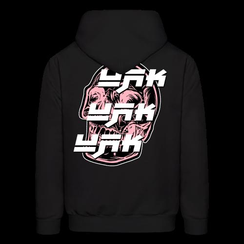 UAK CLEAN W/ SKULL BLACK - Men's Hoodie