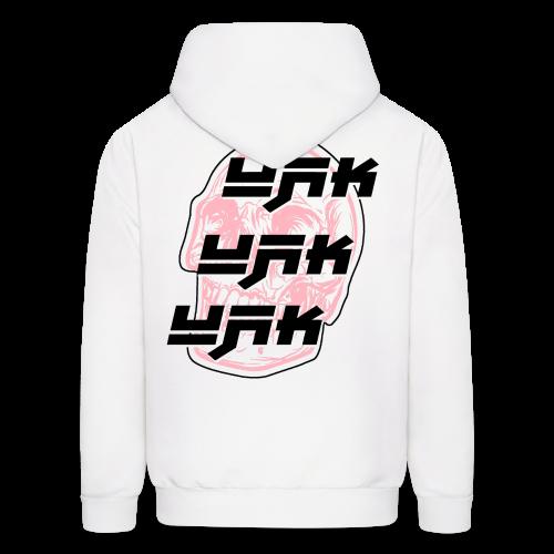 UAK CLEAN W/ SKULL WHITE - Men's Hoodie