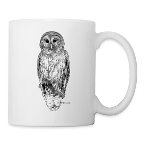 Barred Owl - 8630 - Coffee/Tea Mug