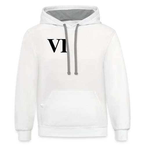 VI Hoodie - Contrast Hoodie