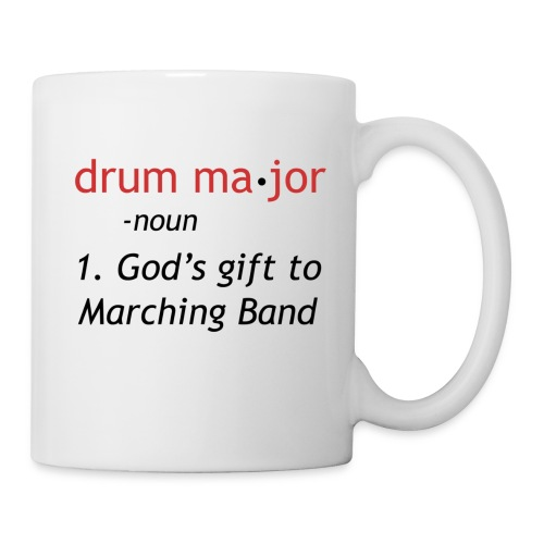 Drum Ma-jor Mug - Coffee/Tea Mug