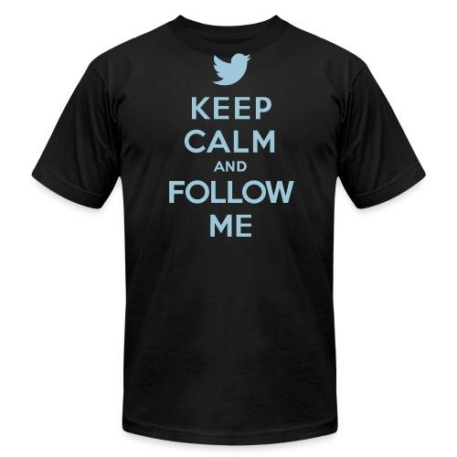 Follow us! (Mens) - Men's Fine Jersey T-Shirt