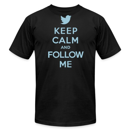 Follow us! (Mens) - Men's  Jersey T-Shirt
