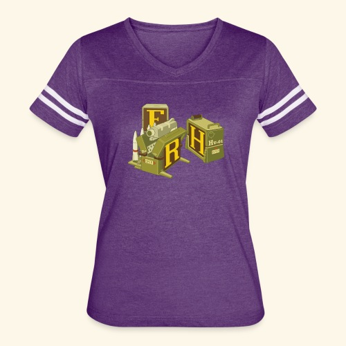 F-H-R-Container - Women's Vintage Sport T-Shirt