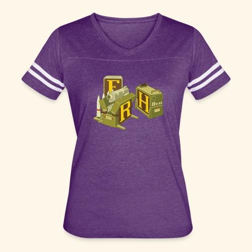 F-H-R-Container - Women's Vintage Sport T-Shirt
