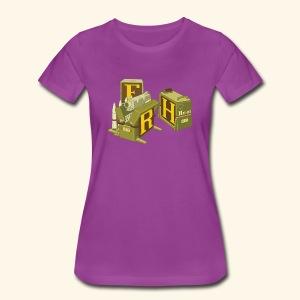 F-H-R-Container - Women's Premium T-Shirt