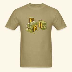 F-H-R-Container - Men's T-Shirt