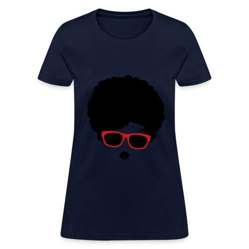 straight hair - Women's T-Shirt