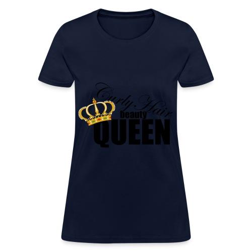 Queen of Curls - Women's T-Shirt
