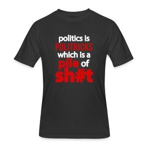Politricks - Men's 50/50 T-Shirt
