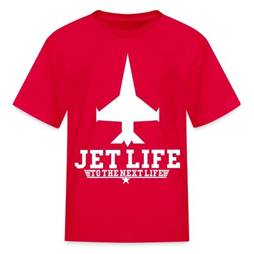 Red/White T-Shirt (Jet Life) - Kids' T-Shirt