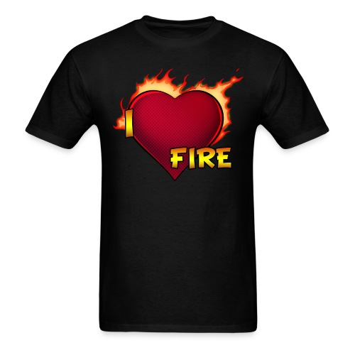 I Love Fire (Standard) - Men's T-Shirt