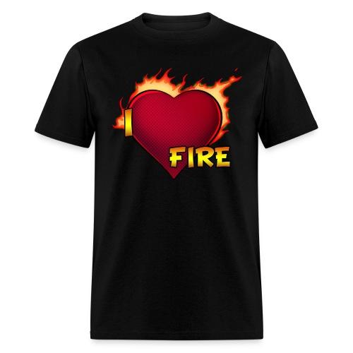 I Love Fire (Standard) - Men's T-Shirt