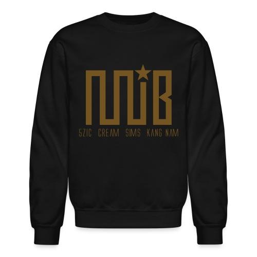 MIB (Gold Glitz) - Crewneck Sweatshirt