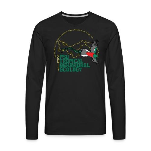 Men's Longsleeve T - Dark Shirt Color - Men's Premium Long Sleeve T-Shirt