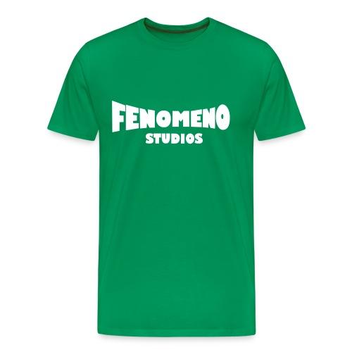 Men's Premium T-Shirt White Fenomeno Logo - Men's Premium T-Shirt