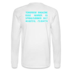 BRAVE NEW WORLD! - LONG SLEEVE WHITE - Men's Long Sleeve T-Shirt