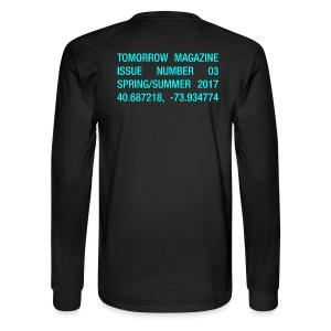 BRAVE NEW WORLD! - LONG SLEEVE BLACK - Men's Long Sleeve T-Shirt