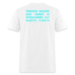 BRAVE NEW WORLD! - WHITE TEE - Men's T-Shirt