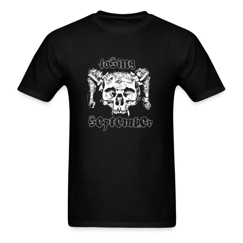 LS skull shirt - Standard Weight - Men's T-Shirt