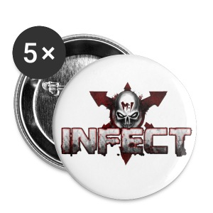 SMALL INFECT BUTTON - Small Buttons