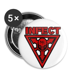 SMALL INFECT MUSIC BUTTON - Small Buttons