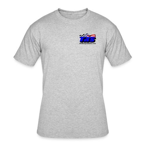 TRS T-Shirt (logo on front only) - Men's 50/50 T-Shirt