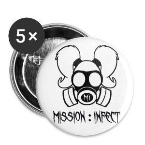 SMALL MISSION INFECT HONEYS BUTTON - Small Buttons