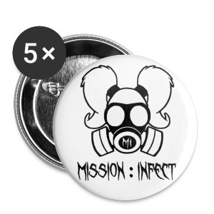 LARGE MISSION INFECT HONEY BUTTON - Large Buttons