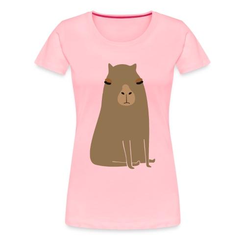 Fat capybara - Women's Premium T-Shirt
