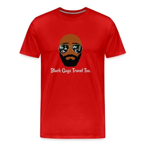 Men's Shirt (BGTT Bald Design) - Men's Premium T-Shirt