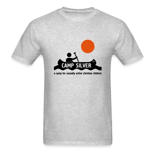 Official CAMP FOR SEXUALLY ACTIVE CHRISTIAN CHILDREN T-shirt - Men's T-Shirt