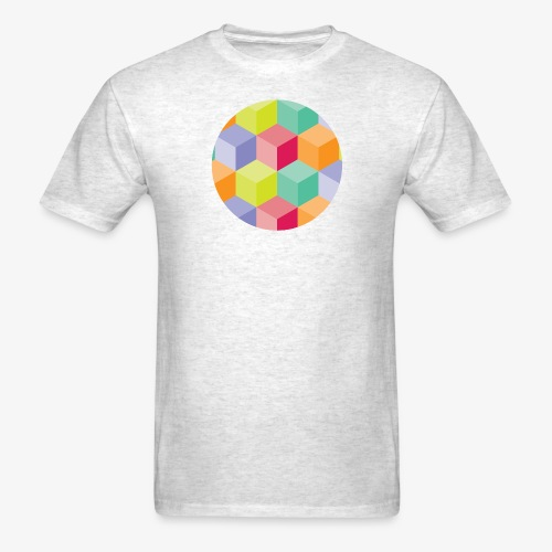 Cubed Circle - Men's Basic - Men's T-Shirt